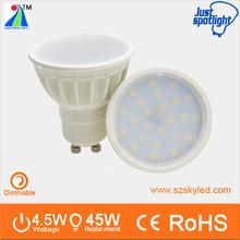 Nuovo design in 2014 prezzo di rock bottom 2835 gu10 led faretto 4.5w tazza della lampada a led