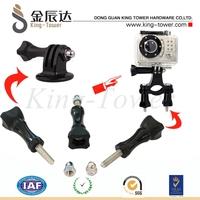 Long Thumb plastic Knob adjustment Screw Bolt for GoPro Camera Hero 1 2 3 Camcorder USA