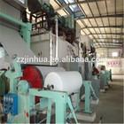 1092 single cylinder & single wire tissue paper machine
