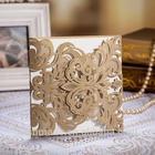 Best Sale Laser Cut Wedding Invitation Card CW3109