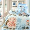Wholesale home use 100% cotton new design european bedding set
