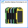 waterproof mobile solar power bank charger solar cell phone charger circuit