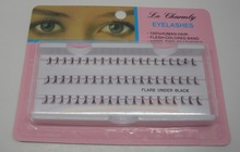 60x Individual Extension Fake False Eyelash Eye Lash 8 10 12mm Makeup Salon