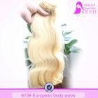 european virgin hair extensions virgin malaysian hair body wave blonde brazilian hair color 613