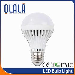 cheap dimmable 5w 3000k led bulb zhongtian