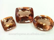 Natural Multi Shape Faceted Loose Gemstone Morganite