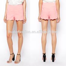 fashion lady plain shorts wholesale booty shorts lady shorts