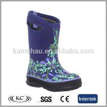 Eua popular azul neoprene botas de pesca botas de chuva