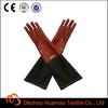 hot long sleeve pvc gloves for fishing