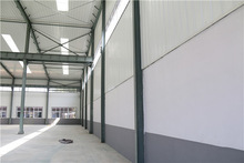 wide application light prefabricated steel structure basketball court house