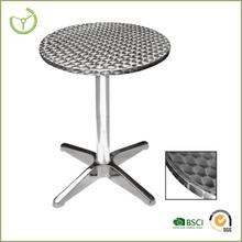 """Aluminium round cafe pub table 24"""""""