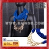 6 pcs/lot Free Shipping Handmade Polyester Jewelry Scarf Hot Wholesale and wholesale Scarves