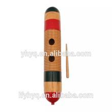 china profesional de la fabricación de madera guiro instrumento musical guiro