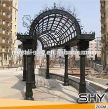 Long Metal Garden Arches