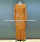New fashion elegant baju kurung latest abaya designs 2014 dubai