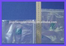 Custom Zip Lock Transparent Plastic Bag