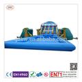 2014 nuevo diseño de gran inflable del agua parque de diapositivas con piscina para la venta