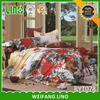 luxury wedding bedding set/bulk bed sheets/king size bed in a bag sets