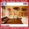 New arrival hot sale retail wooden antique beauty salon furniture
