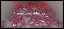 Five Star cubic zirconia AAA CZ manufacturer 6*6mm pink zircon
