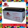 Best one nato solar panel with gel battery 12v 150ah