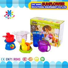 Preschool Measuring Science Lab Set Plastic Multi-function Educational toys Set 12PCS