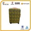 customized abs trolley case with professional zippers