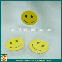 2014 smiley car air freshener,feu orange car air freshener