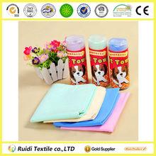 Strong High Water Absorption Cloth Imitation Buckskin Pet Towel