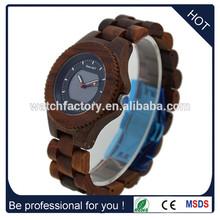 Showcase Nature Sandal wooden watch Solar wood watch