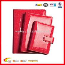 Free sample !!! OEM stationery/wholesale pu notebook/leather notebook