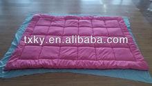 coral fleece quilt