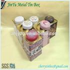 manufactured best-selling rectangular tea packaging tin boxes