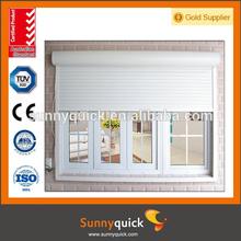 aluminum garage roller up door window inserts with good quality rubber seals