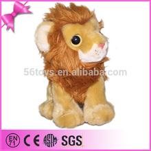 long plush stuffed made in China valentine large plush lion