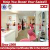 Customized wooden antique beauty salon furniture for beauty salon