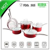pink enamel cookware OYD-C303