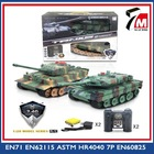 1 20 2.4G military rc tank toys 12 channels battle model tank