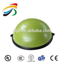 Respectueux de l'environnement pvc transparent bosu ball/moitié balance ball
