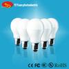 Factory E27 9 watt led bulb, 6000K 600Lm, CRI >80, indoor use