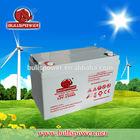 12V 110Ah golf cart battery/solar panel kit made in china battery