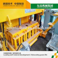 QTM6-25 mobile brick making machine in dubai block machine