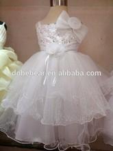 fashion style baby wedding dress hot new model 2014 wedding dress baby girl party dress children frocks designs