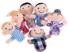2014 new design family finger puppet