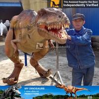 My-Dino latex adult dinosaur costume head for cosplay