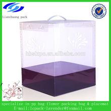 High quality custom logo printing clear plastic box,plastic packaging box,pvc box