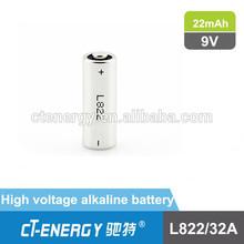 super alkaline battery l822 battery