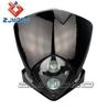 Black high quality dirt bike Motorradscheinwerfer motorcycle light for CBR600 RM-Z450 KLX110
