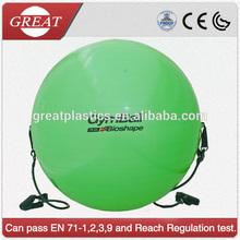 85cm PVC Gym Ball With Expander Tube Handle