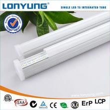 T5 Integration LED Tube Light Al Housing Full Plastic PC Tube led t5 wedge